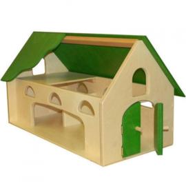 Speelhuis groen
