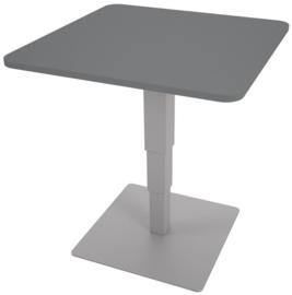 Vierkante tafels 70 x 70 cm met hoogteverstelling