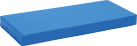 Anti slip matras Afm. 90 x 40 x 8 cm blauw