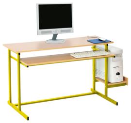 Computerplank voor NEO-bureaus - geel
