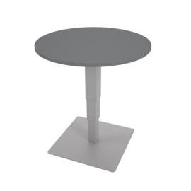 Ronde tafel 70 cm met hoogteverstelling -  grijs
