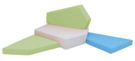 Quadro 2 matten set -  klein
