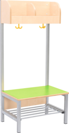 Flexi garderobe 2, zithoogte 26 cm - groen