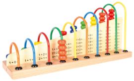 Houten abacus 1-10