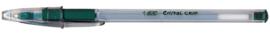 Balpen Bic Cristal grip groen medium
