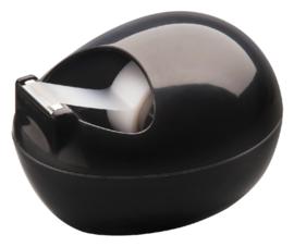 Plakbandhouder Scotch Pebble zwart + 1 rol magic tape
