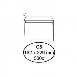 Enveloppen 162 x 229 mm.