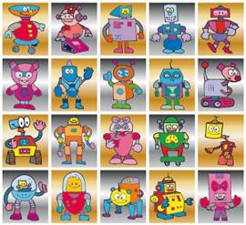 Stickers robotjes - serie 18