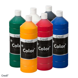 Creall-color schoolverf 1000cc 6x assortiment