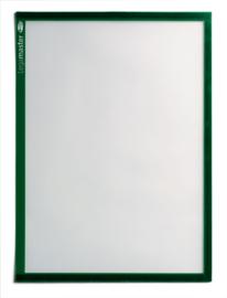 5 stuks Magnetische documenthouders A4, groen