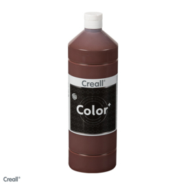 Creall-color schoolverf 1000cc donkerbruin