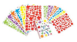 Foam fantasie stickers - 24 vel