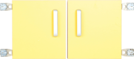 Deur voor niveau verhoger S (092817) - geel