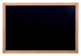 Krijtbord Securit wand 30x40cm teak hout