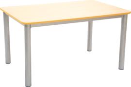 Premium rechthoekige tafelblad - oranje