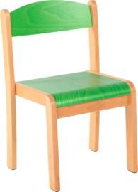 Maxime stoel, groen maat 1-4