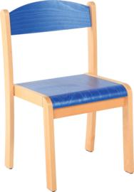 Maxime stoel, blauw maat 1-4