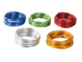 Aluminum draad 5 kleuren