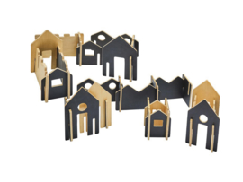 Huizen bouwen beschrijfbaar
