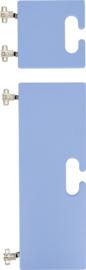 Kleine en grote deur voor kameleon garderobe - blauw