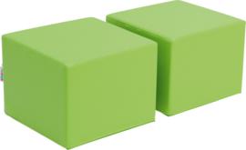 Zachte poefs voor Premium-kast - groen