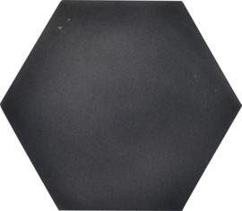 Geluiddempende zeshoek - antraciet, 50 mm