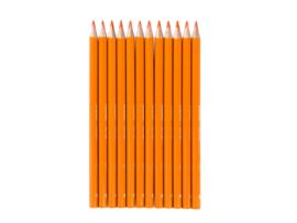 Bruynzeel Triple kleurpotloden oranje nr. 23