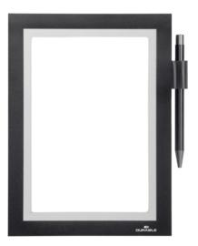 Duraframe Durable 499401 Note A5 zelfklevend zwart