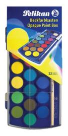 Waterverfdoos Pelikan 721670 22 kleuren