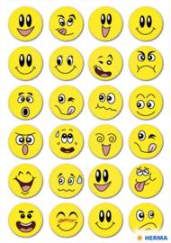 Etiket Herma smiley met wiebeleffect