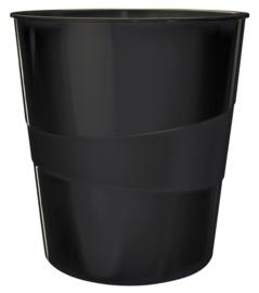 Papierbak Leitz 15 liter zwart