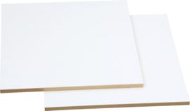 Planken voor kleurenland-kasten 2 stuks