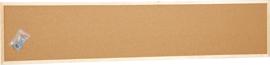Prikbord 35 x 160 cm - beige