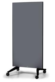 Mobiel Glassboard grijs Voor een stijlvolle werkomgeving