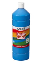 Plakkaatverf Creall basic 10 primair blauw 1000 ml