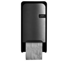 Dispenser Euro Quartz toiletrolhouder doprol zilv