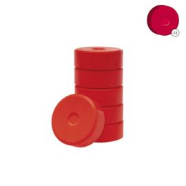 Colorall verfblokken Ø 5,5 cm  6 dlg - Magenta