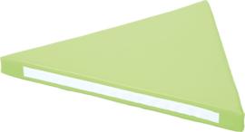 Driehoekig zitje - groen