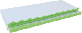 Matrassenset voor manipulatieve wand - grijs  2 stuks