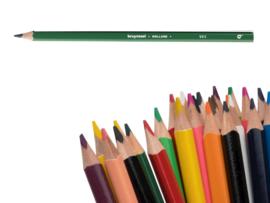 12 kleurpotloden Bruynzeel mosgroen 965