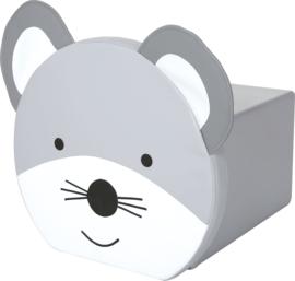 Dieren poef - muis