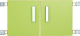 Deur voor niveau verhoger S (092817) - groen
