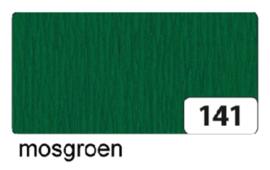 Crepepapier  250x50cm nr141 mosgroen