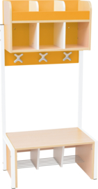 School garderobe Butterfly 3 - oranje