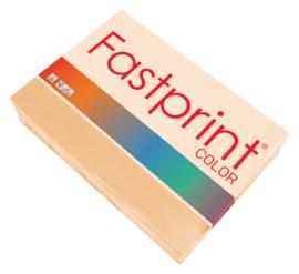 Kopieerpapier Fastprint A4 120gr zalm 250vel