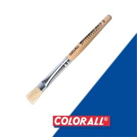 1x Colorall klein houten kwastje