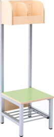 Flexi garderobe 2, zithoogte 35 cm - groen