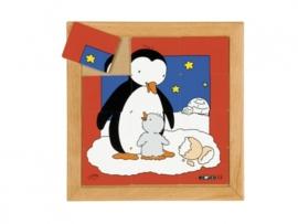 Puzzel pinguin moeder/kind 12 dlg.