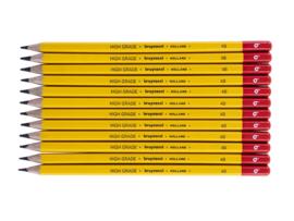 12 potloden Bruynzeel 4B