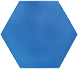 Geluiddempende zeshoek - babyblauw, 50 mm